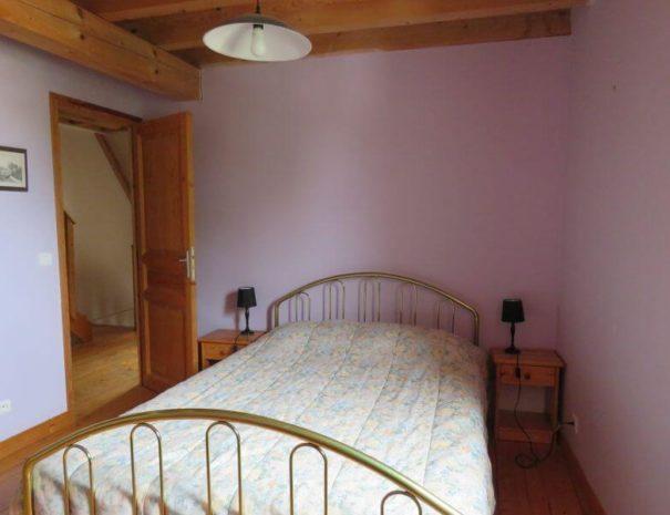 Première chambre, un lit double