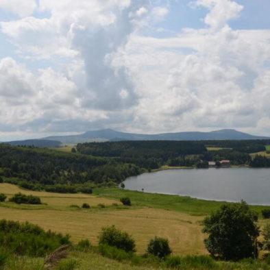 Le lac de saint Front