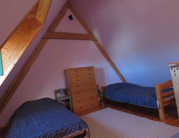 Seconde chambre - Deux lits simples