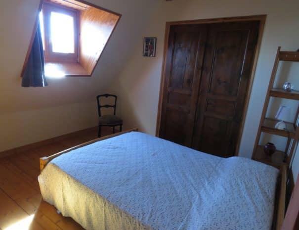Première chambre - lit double